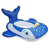 Лодочка надувная «Синий кит», BT-IG-0046