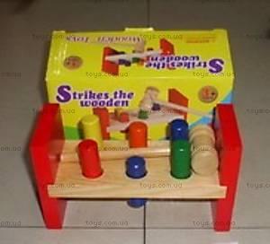 Логическая игра с молоточком, W02-32