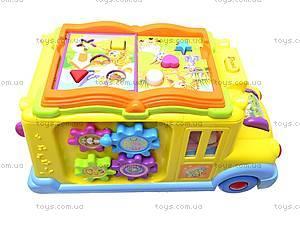 Логическая игрушка «Автобус-книга», 9183, цена
