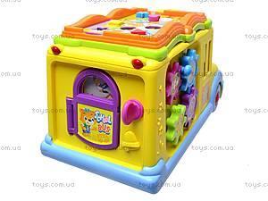 Логическая игрушка «Автобус-книга», 9183, toys