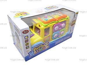 Логическая игрушка «Автобус-книга», 9183