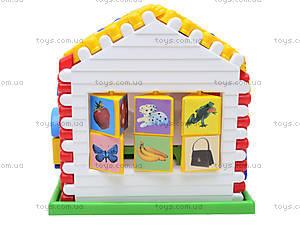 Логическая игрушка «Дом Алисы», 00039, игрушки