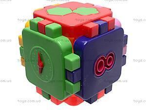 Логический кубик-головоломка, 013120, купить