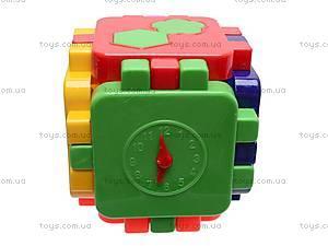 Логический кубик-головоломка, 013120, фото