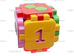 Логический кубик-головоломка, 013120, цена