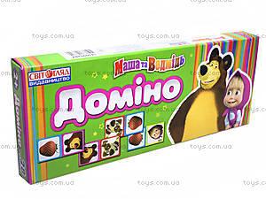 Игровое домино «Маша и Медведь», 394614109028У