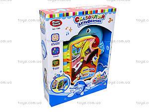 Книжка-игрушка «Обучающий дельфин», 7380, игрушки