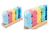 Логическая игрушка «Квадраты и цилиндры», И034, отзывы