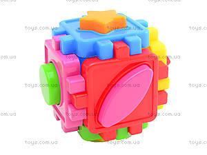 Детский куб-сортер с фигурами, 50-101, купить