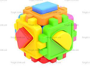 Детский куб-сортер с фигурами, 50-101, фото