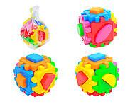 Детский куб-сортер с фигурами, 50-101