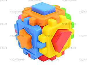 Детский куб-сортер с фигурами, 50-101, отзывы