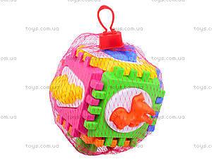 Куб-сортер для детей с вкладышами , 50-103