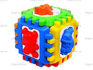 Куб-сортер для детей с вкладышами , 50-103, цена