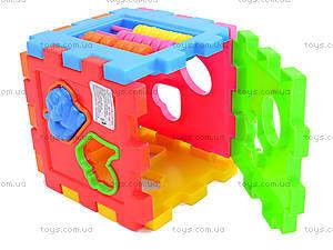Сортер логический для детей, 50-104, игрушки