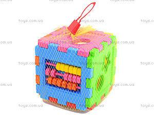 Сортер логический для детей, 50-104, детские игрушки