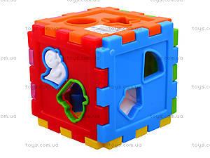Детский куб-сортер со счетами, 50-201, купить