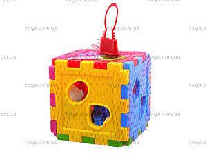 Детский куб-сортер со счетами, 50-201, цена