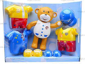 Интерактивная игрушка «Мишка учится одеваться», 7499, фото