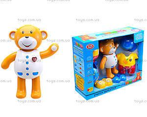Интерактивная игрушка «Мишка учится одеваться», 7499