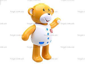 Интерактивная игрушка «Мишка учится одеваться», 7499, цена