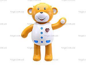 Интерактивная игрушка «Мишка учится одеваться», 7499, игрушки