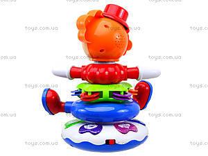 Музыкальная пирамида «Клоун», 7531, игрушки
