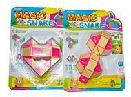 Логика-змейка розовая, 1024-7, купить
