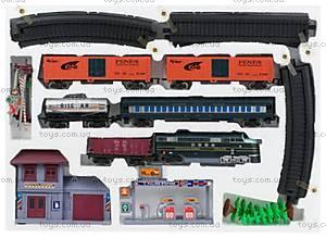 Железная дорога «Локомотив и 5 вагонов», 1604-1В, фото