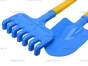 Песочный набор «Лопата и грабли», 2391, цена