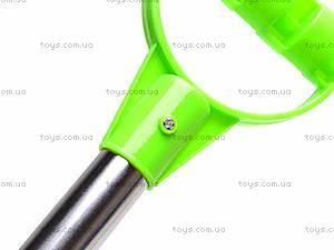 Лопата с металлической ручкой, 004-1, игрушки