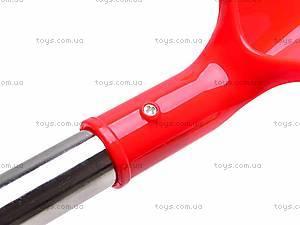 Лопата с металлической ручкой, 004-1, детские игрушки