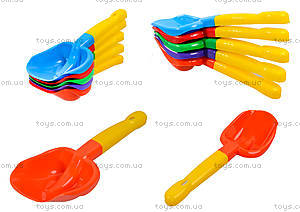 Двухцветные лопатки для песочницы, Л-032-1