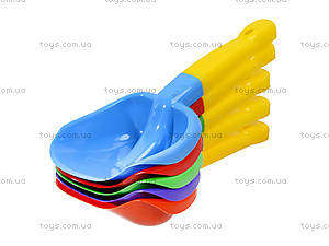 Двухцветные лопатки для песочницы, Л-032-1, цена