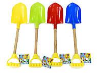 Детская лопатка, 4 цвета, 3077