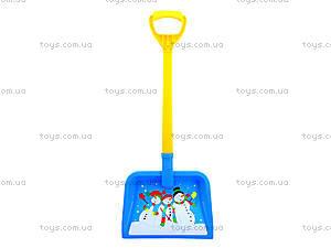 Детская лопатка с рисунком, 3398, отзывы