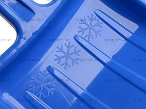 Лопатка для снега, большая синяя, LBB, фото