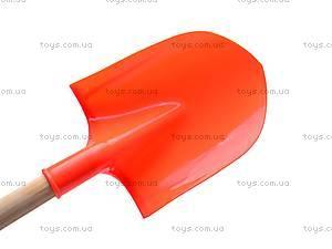 Лопатка для песка, с деревянной ручкой, HC305A, фото