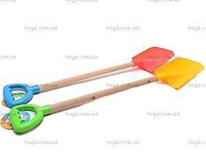 Лопатка для песка, с деревянной ручкой, HC305A