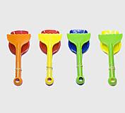 Лопатка с грабельками, разные цвета, Л-033