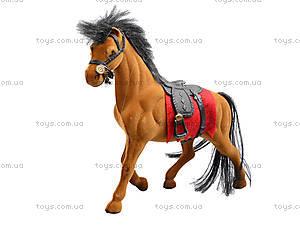 Мягкая велюровая лошадь, 325B, toys.com.ua