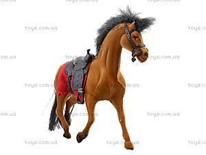 Мягкая велюровая лошадь, 325B, toys