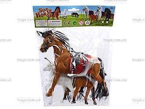 Мягкая велюровая лошадь, 325B, детский