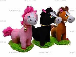Лошадь детская игрушечная, M-ZY1150B, цена