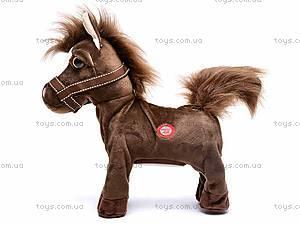 Лошадь игрушечная музыкальная, 1467-3, купить