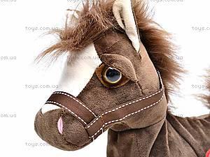 Лошадь игрушечная музыкальная, 1467-3, фото