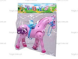 Лошадь музыкальная с аксессуарами, 686-630, цена