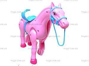 Лошадь музыкальная с аксессуарами, 686-630, игрушки