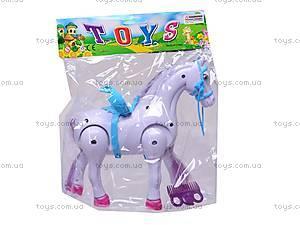 Лошадь музыкальная с аксессуарами, 686-630, детские игрушки