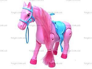 Лошадь музыкальная с аксессуарами, 686-630